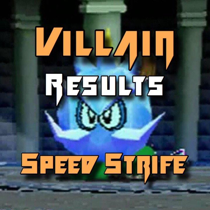 Villain Speed Strife Results Mario Kart Amino