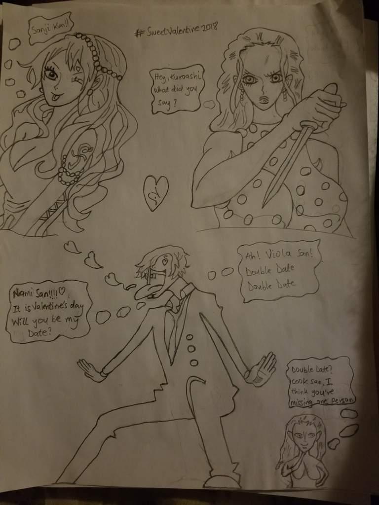 Sanji S Valentine Date One Piece Amino