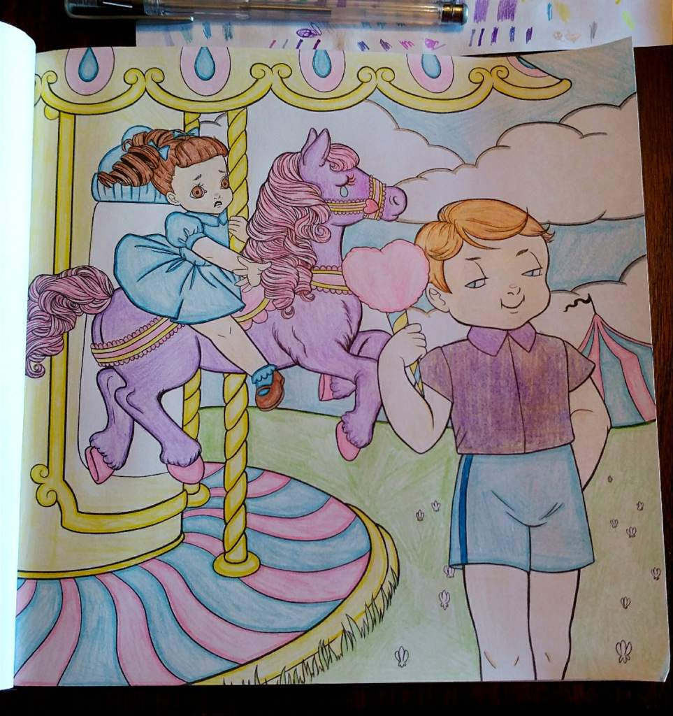 - Carousel In Crybaby Coloring Book!💧 Artistic Advice Amino
