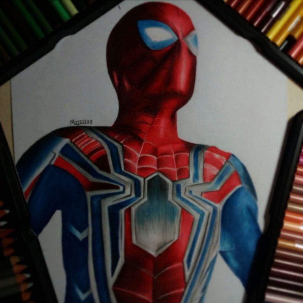 Spiderman (Proyecto infinity war) | DibujArte Amino