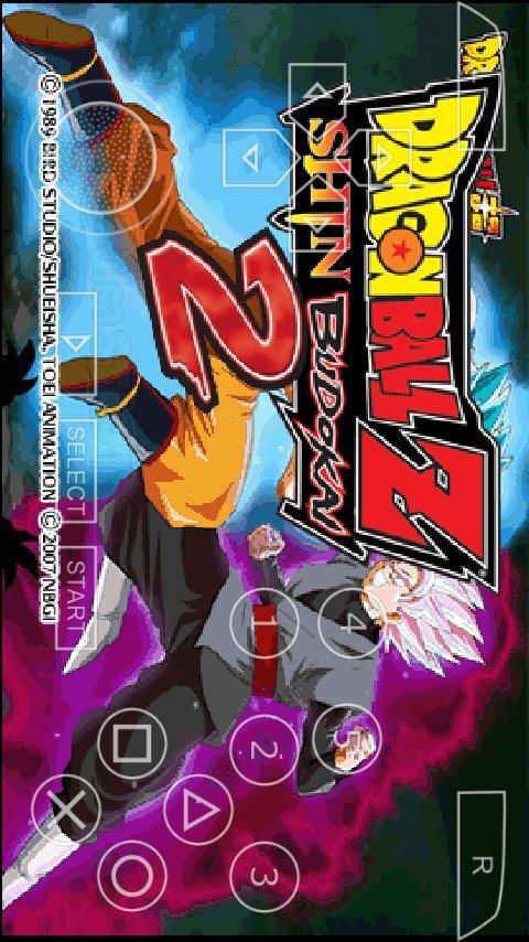 Descargar dragón ball Shin Budokai 2 mod ppsspp | DRAGON