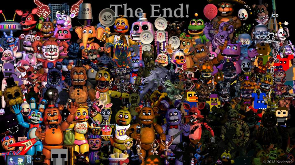 The End! | Five Nights At Freddy's Amino