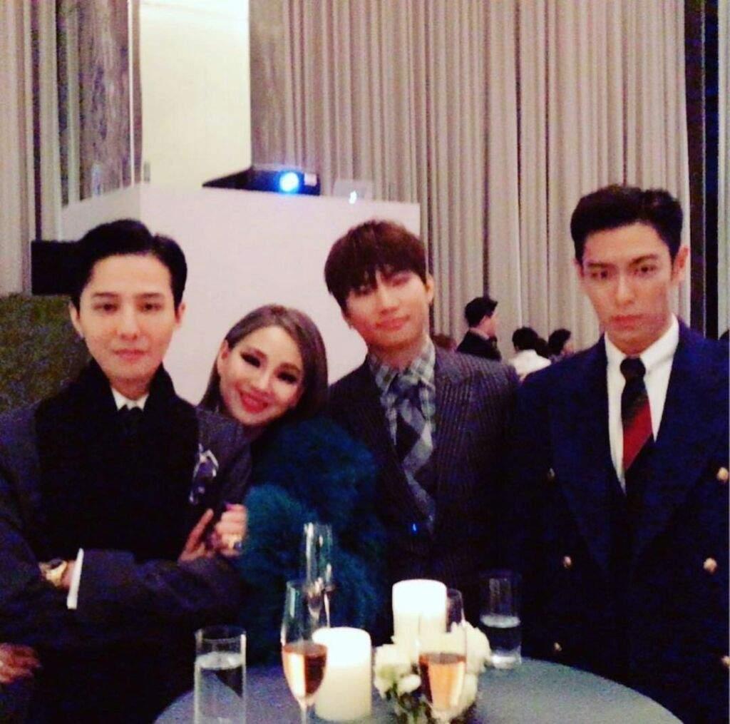 Cl Shares Instagram Post With G Dragon Daesung T O P 180205 Photo Big Bang Amino Amino