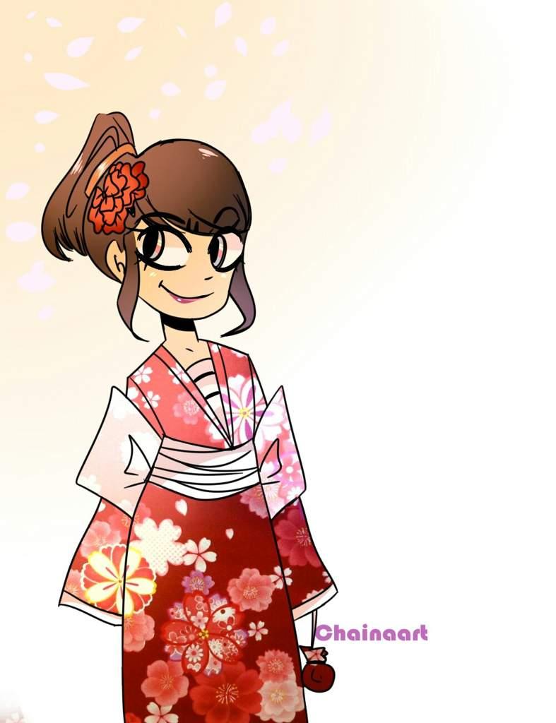 Marinette with a Kimono !   Miraculous Amino