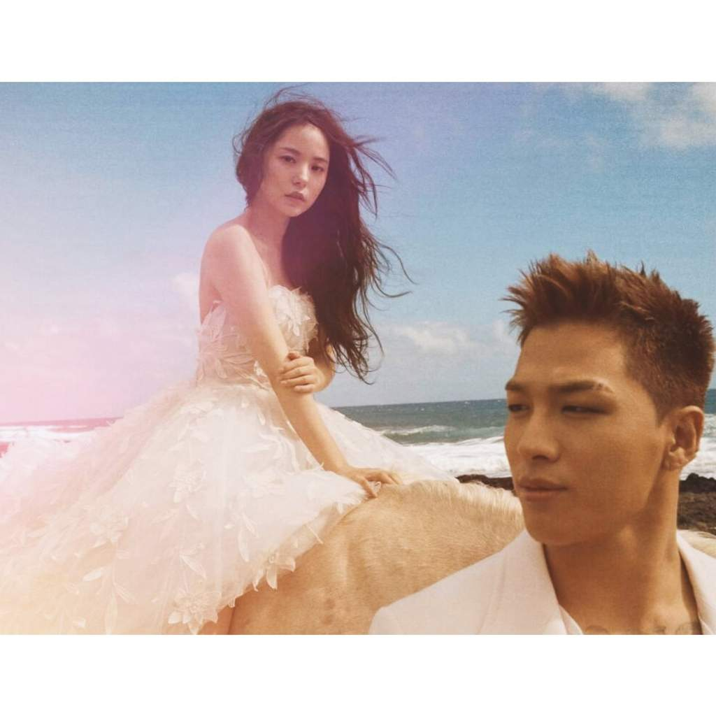 Taeyang X Min Hyo Rin Got MARRIED