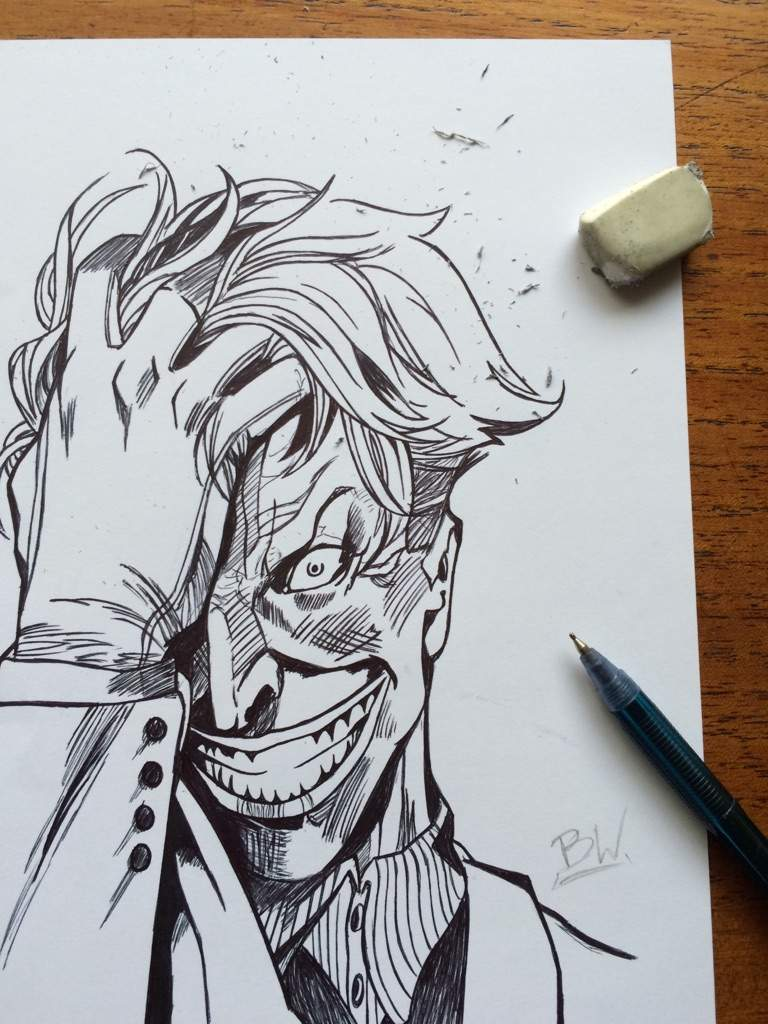 Joker Dibujo Comics Amino