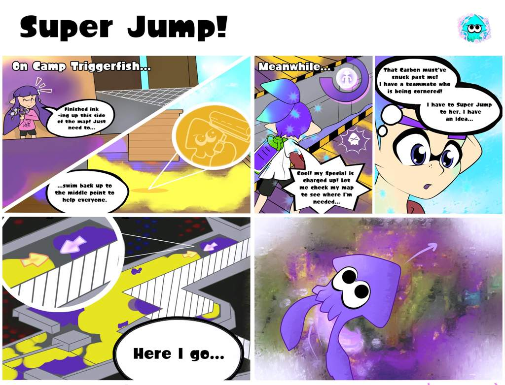 super jump a comic for my best friend splatoon amino