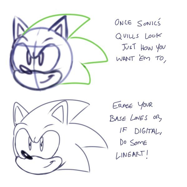 how to draw sonic by nanite sonic the hedgehog amino