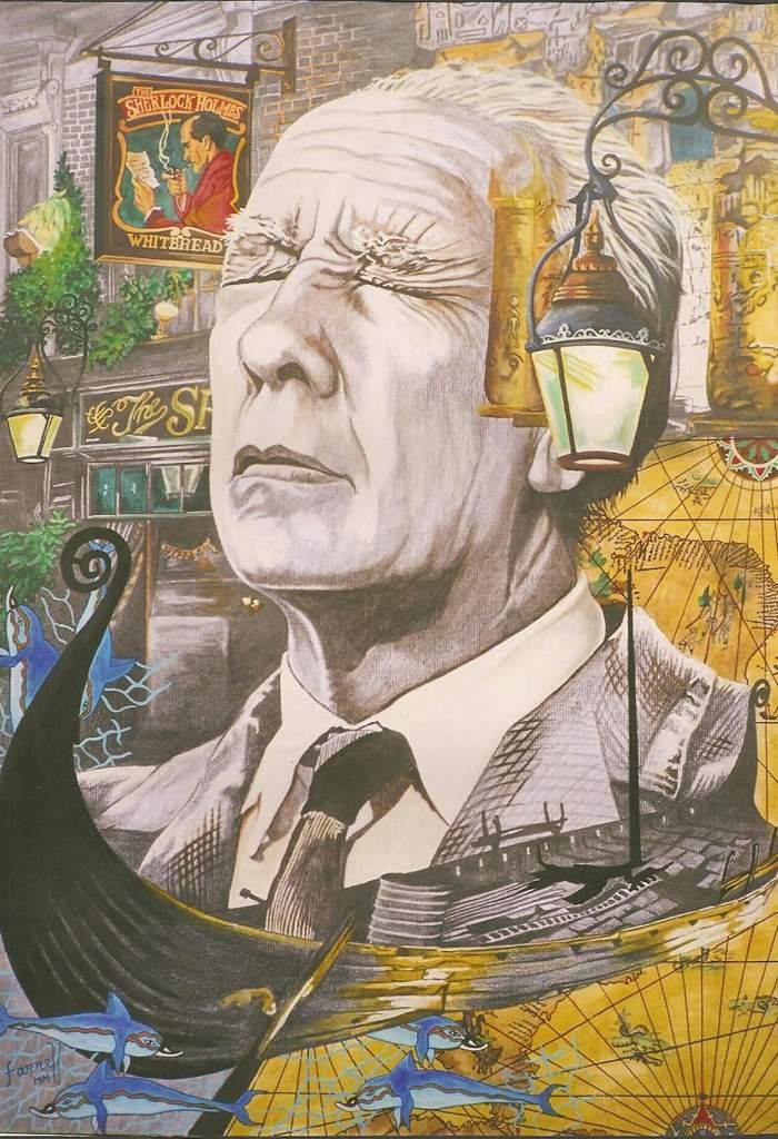 Image result for Borges y el aleph imagenes