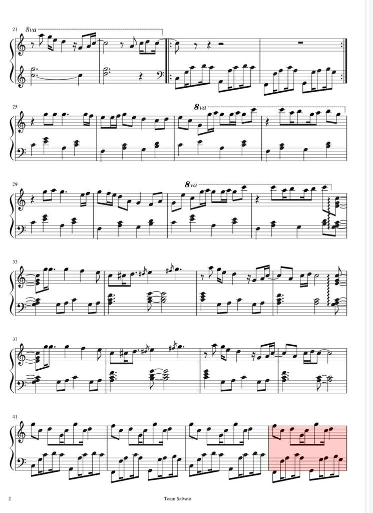 your reality sheet music