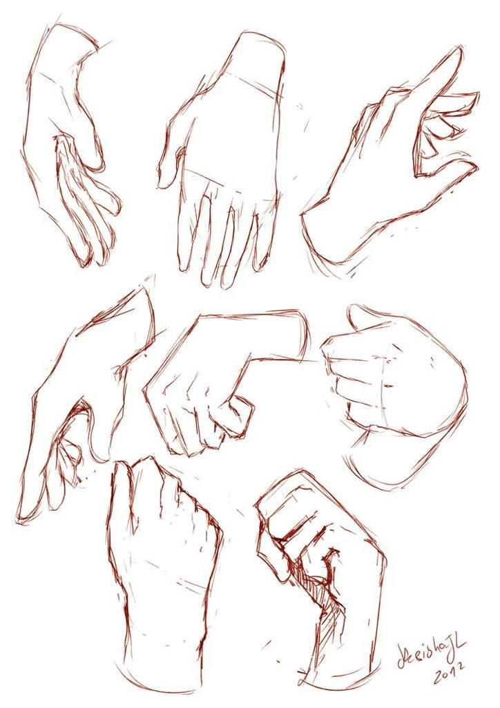 Аниме на руках картинки для