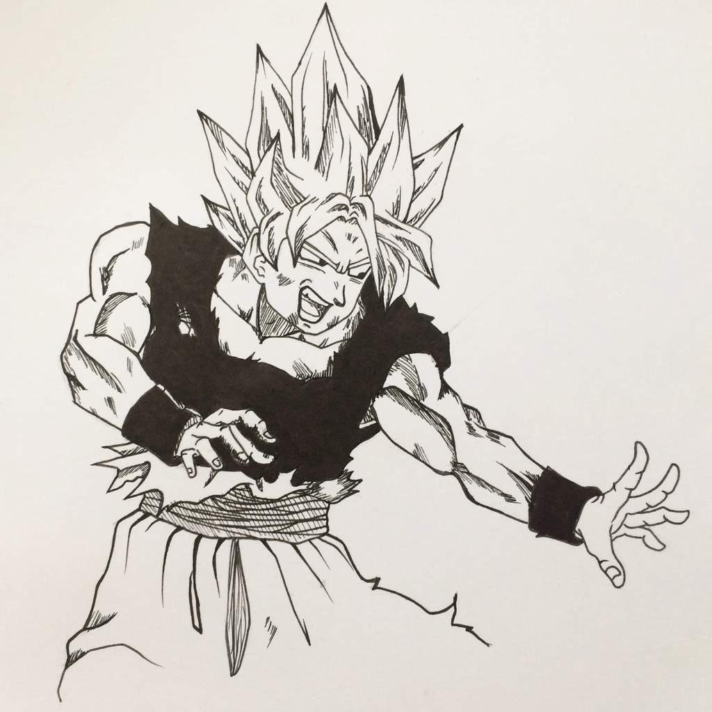 New Dessin Goku Ultra Instinct Tuto Anime Et Manga Amino