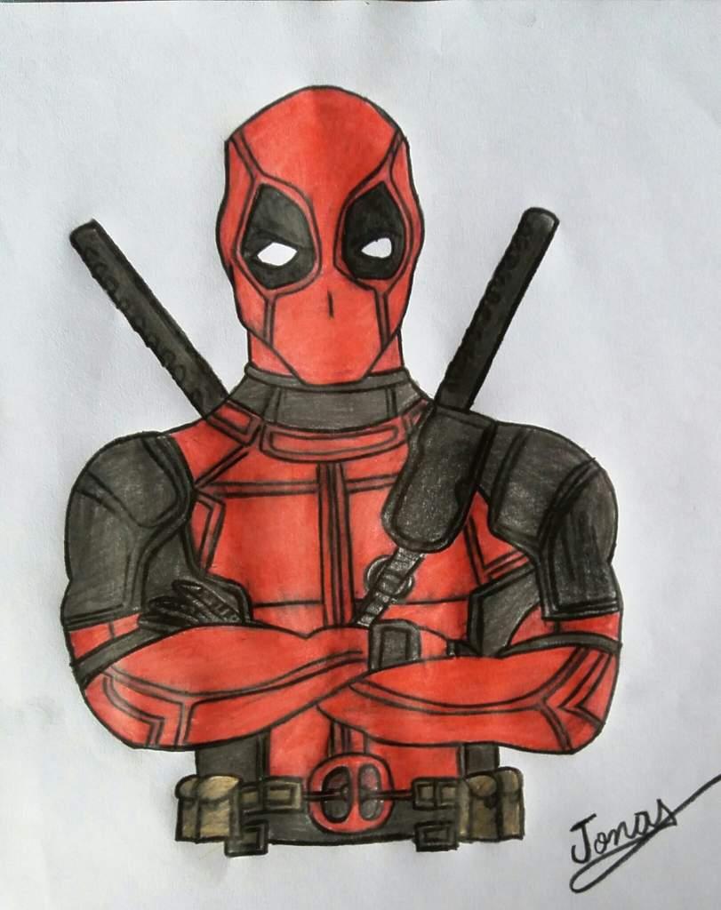 Meu Desenho Deadpool Comics Português Amino