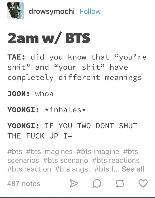 Bts Angst Reactions