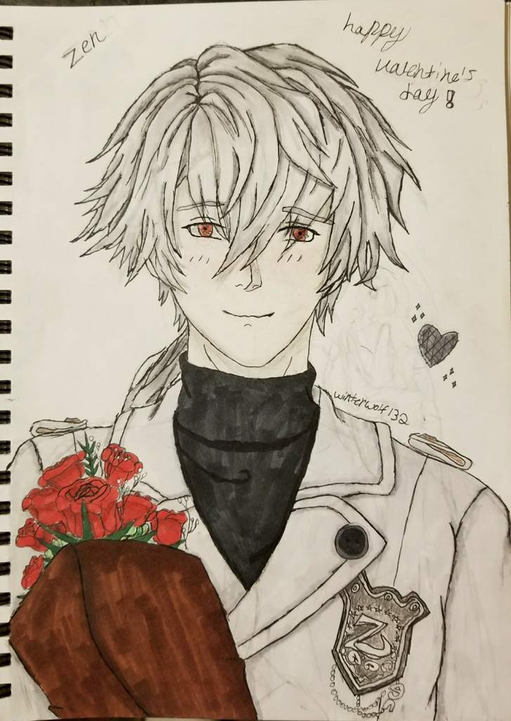 Zen Valentines Drawing Otome Amino