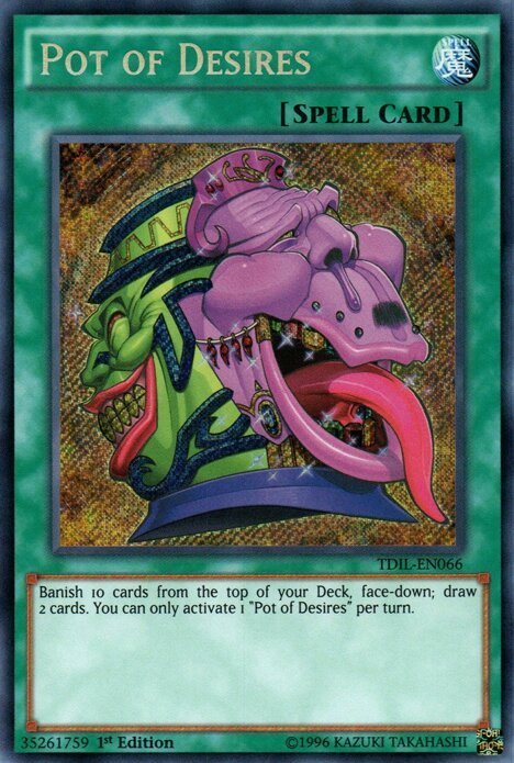 Why Pot of Greed Can't be Unbanned   Duel Amino