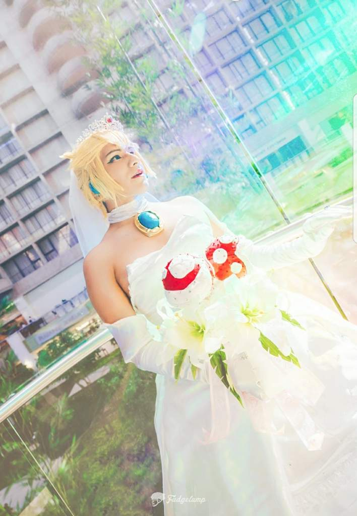 Princess peach Odyssey wedding dress. | Cosplay Amino