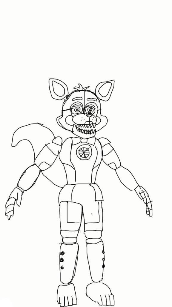 Ft Foxy Drawing Five Nights At Freddy S Amino