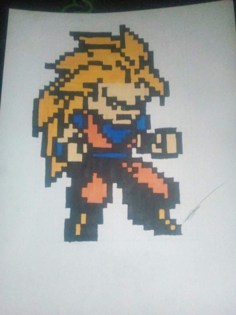mon premier pixel art