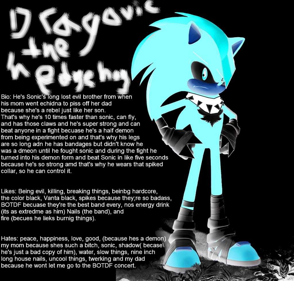 The Worst Sonic Ocs Sonic The Hedgehog Amino