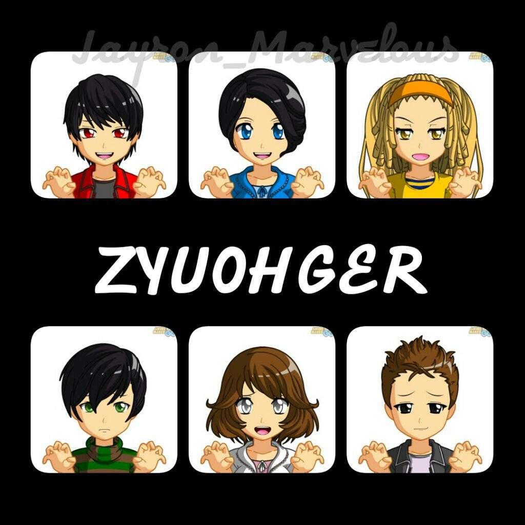 Zyuohger anime anime face maker go sentai rangers unite amino