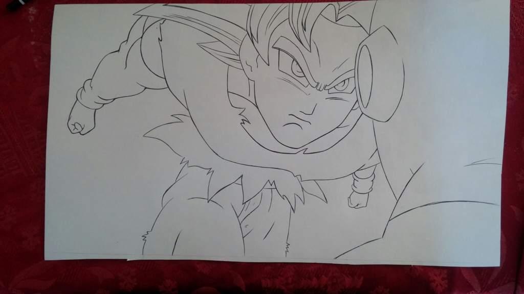 Dibujos Para Colorear De Goku Ultra Instinto: Goku Ultra Instinto