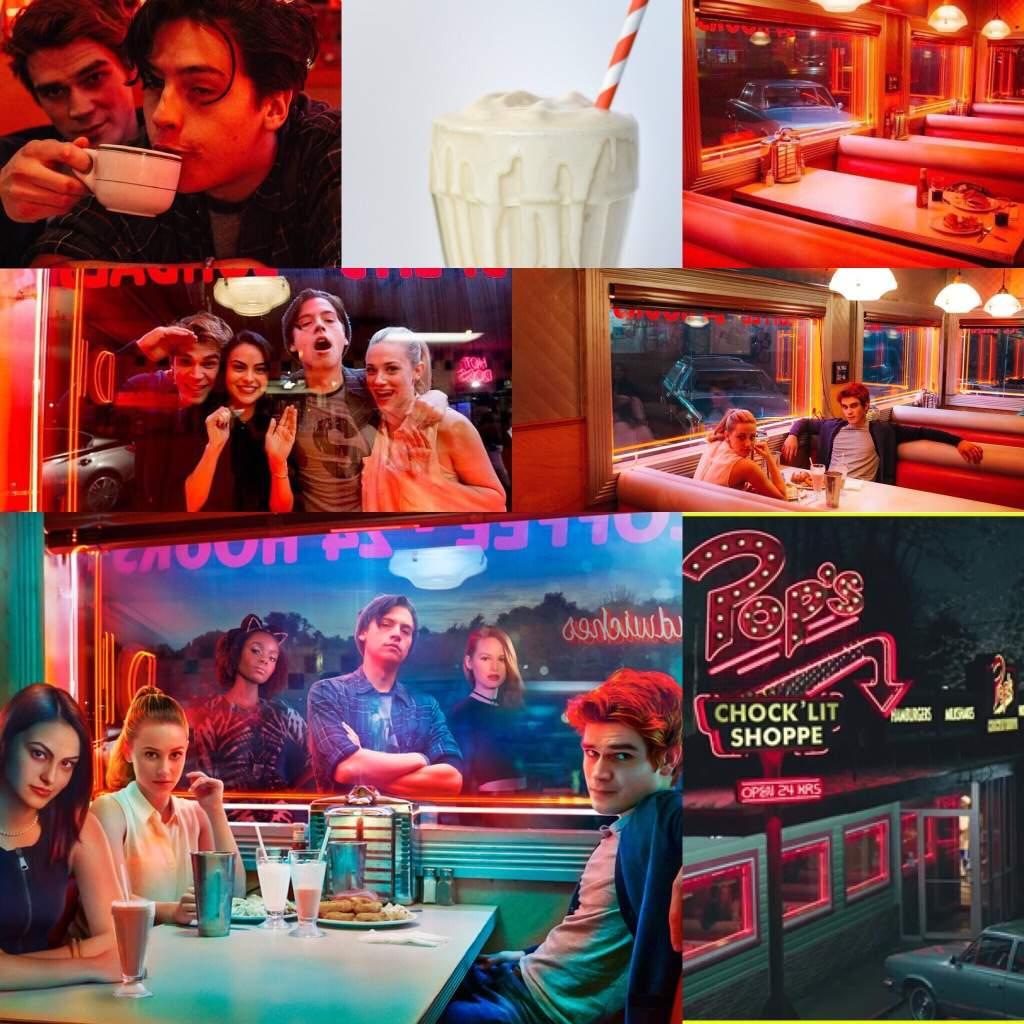 Pop S Diner Aesthetic Riverdale Amino