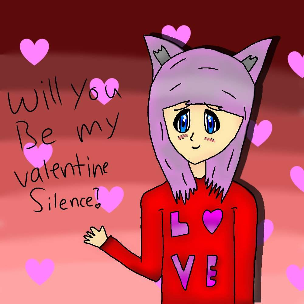 Happy Valentine S Day My Valentine S Day Drawing 0w0 Neko Amino