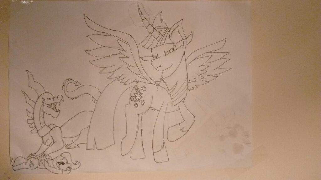 Heres A Crappy Drawing Of Evil Twilight Sprinkle Pie Whatever You