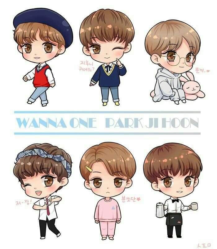 Wannaone Wanna One In 2018 T Fan Art Chibi And