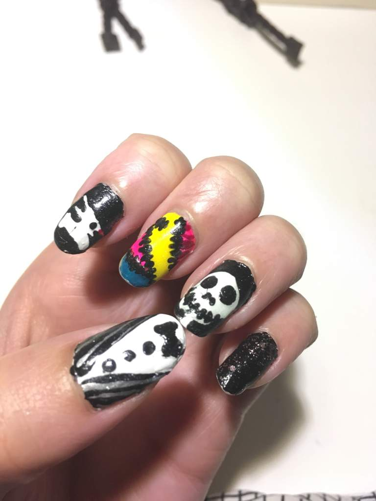nightmare before christmas nails disney amino