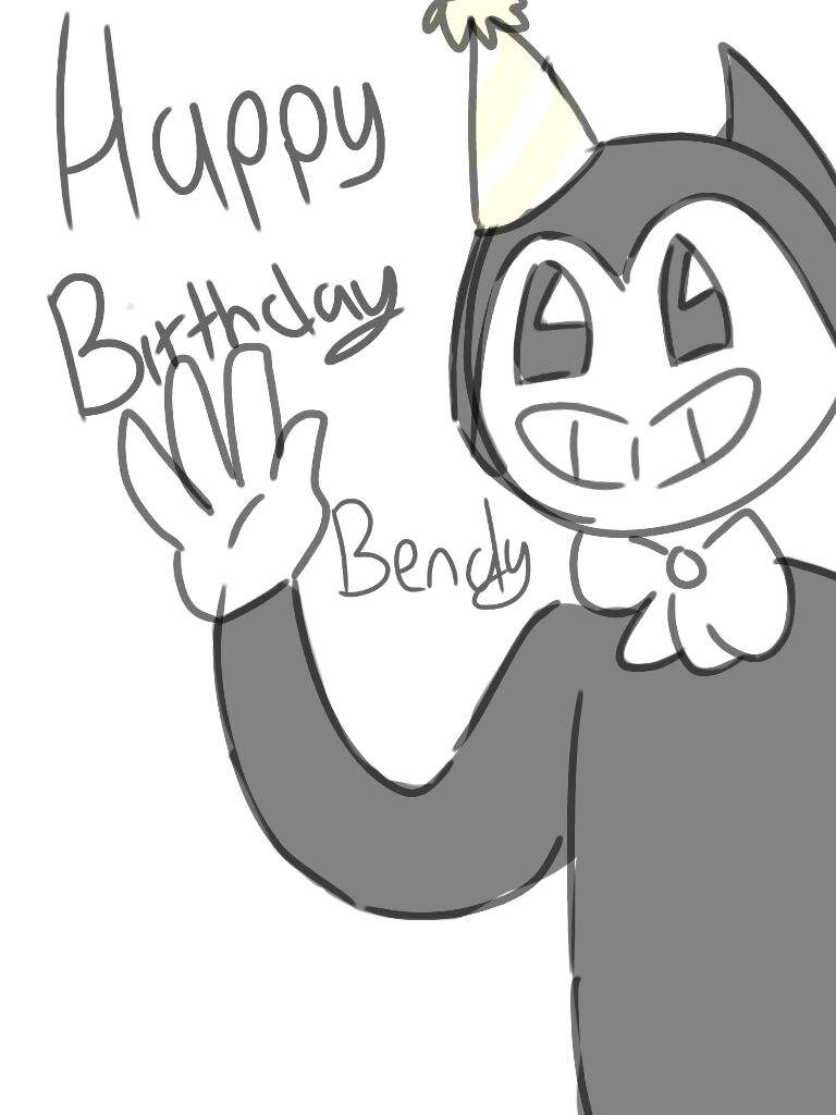 happy birthday bendy bendy and the ink machine amino Epson Ink Product