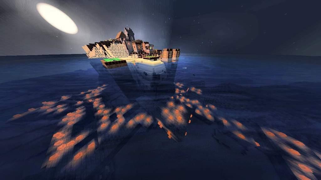 STRONGHOLD VILLAGE ISLAND SEED | Minecraft Amino
