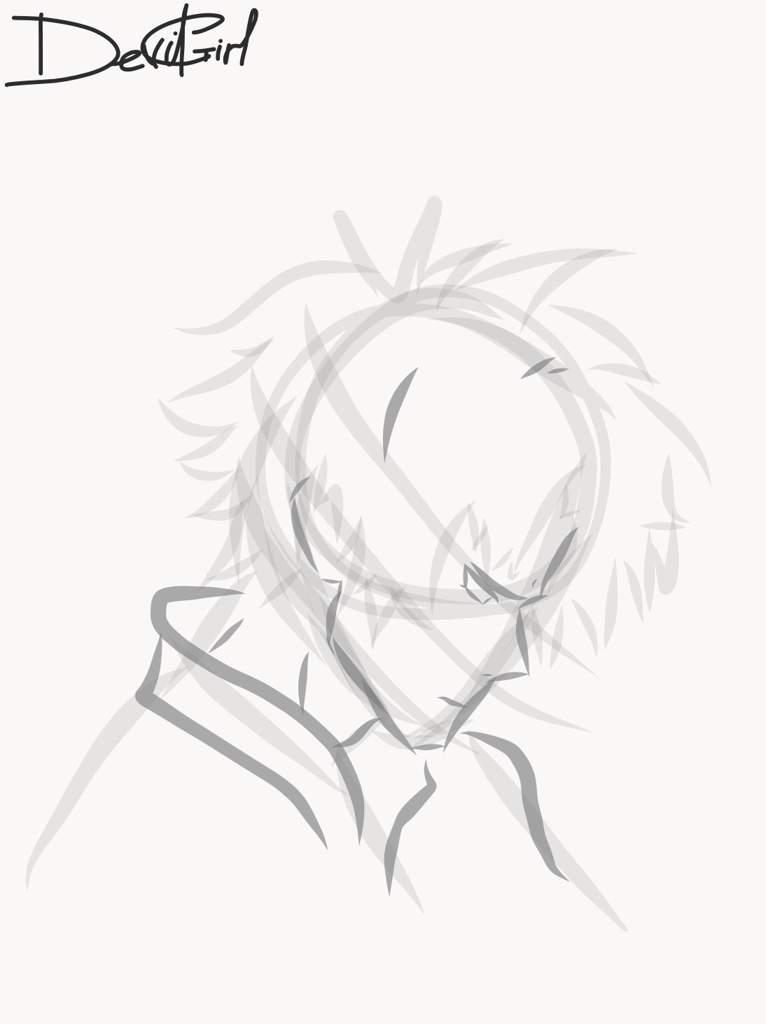 Akira Fudo Sad Face Devilman Crybaby Amino