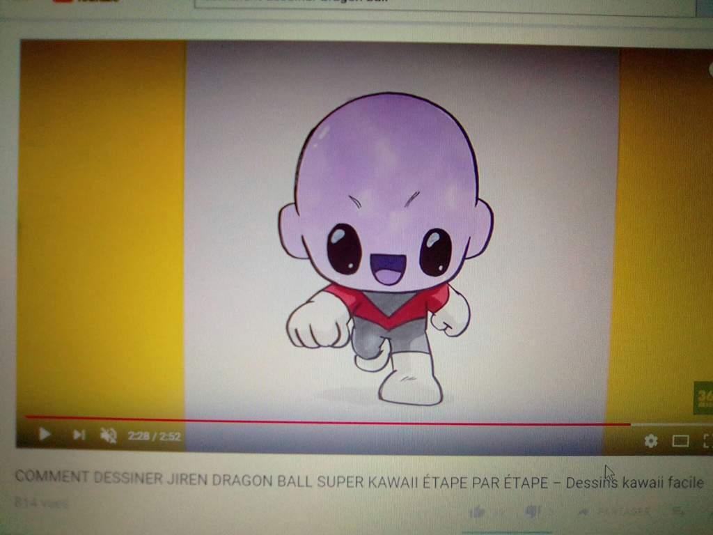 Il Y En A Un Qui A Réussi à Rendre Jiren Kawaii Dragon Ball