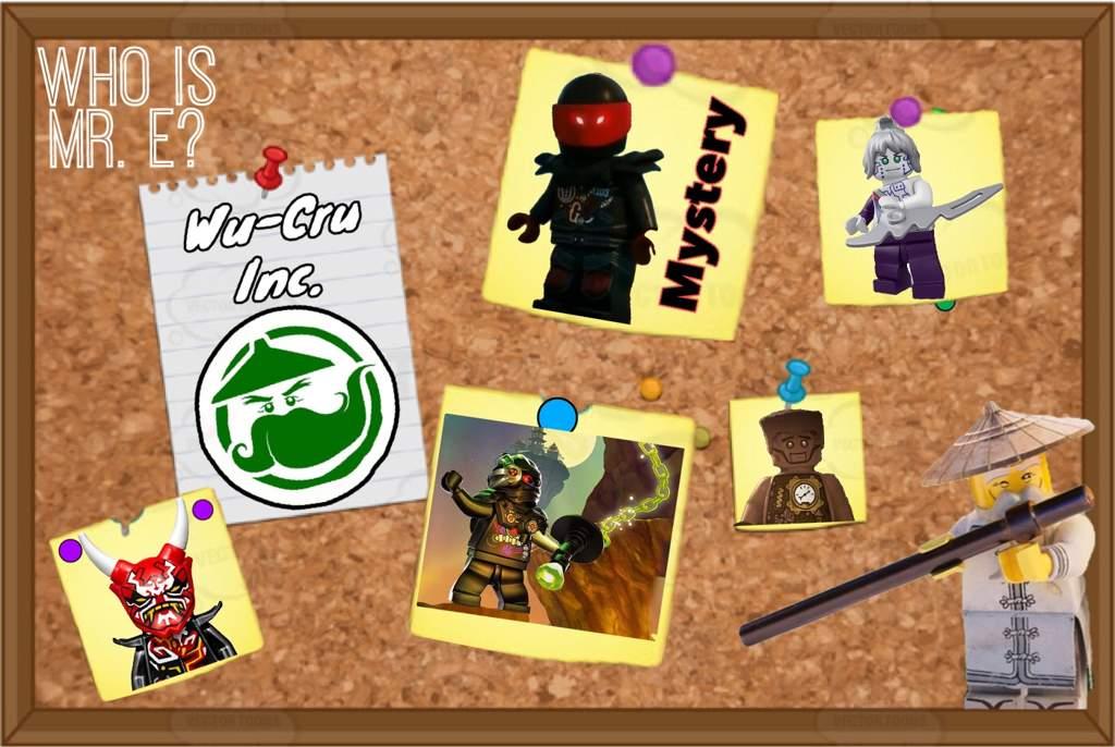 Ninjago: Mr E, who is he? | LEGO Amino