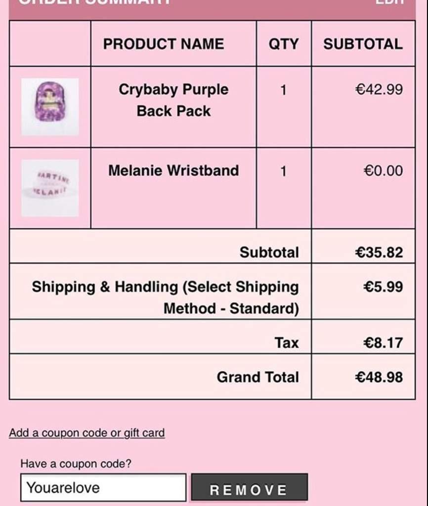 melanie martinez coupons