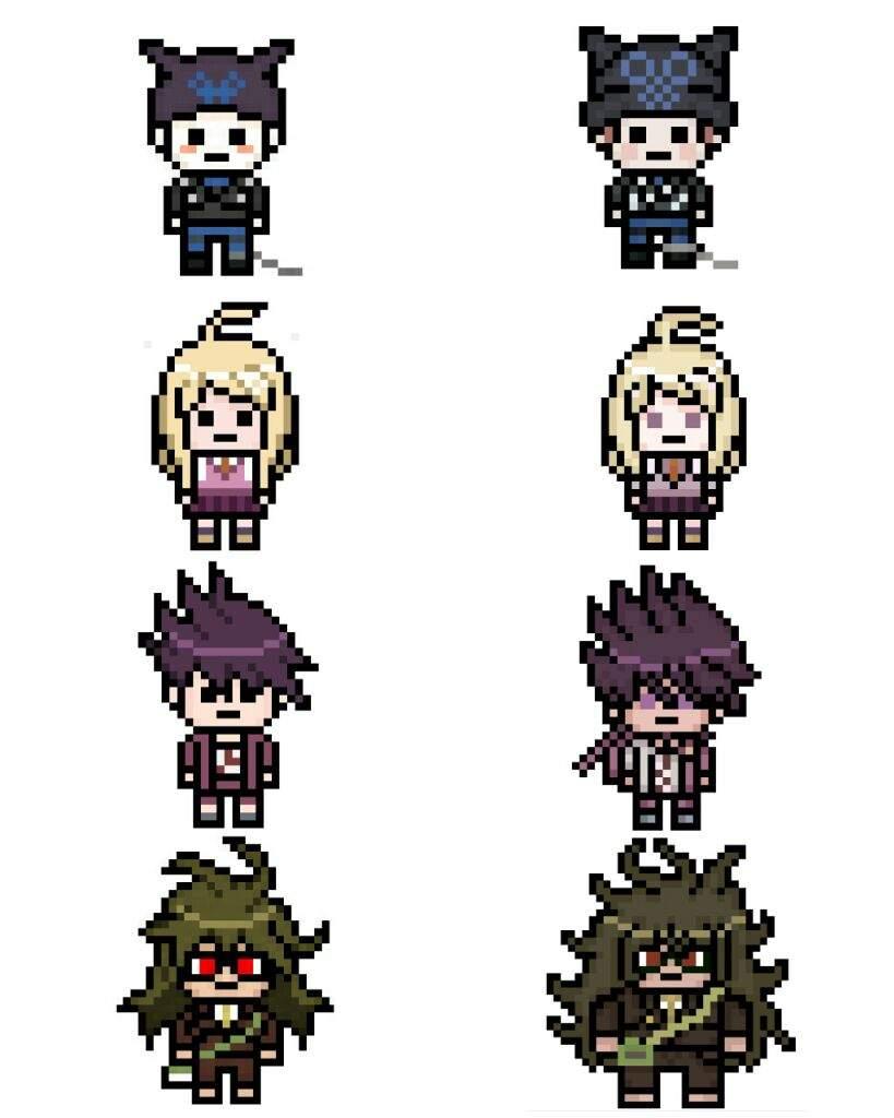 Danganronpa v3 Pixel Sprites - Revamp!   Danganronpa Amino