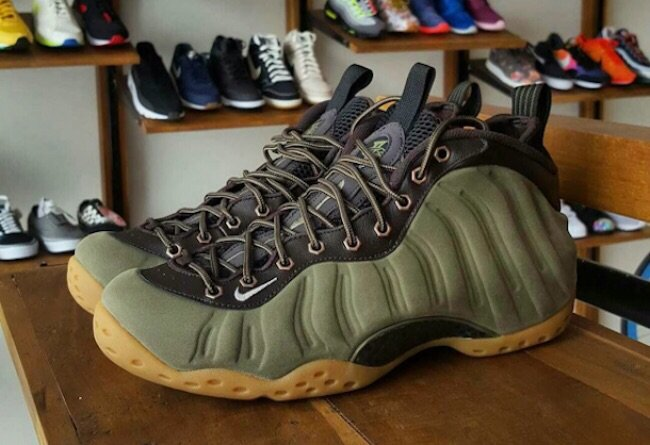 timeless design 54356 e5d98 I love when I get the Olive Green in stock. 😍 Foamposite ...
