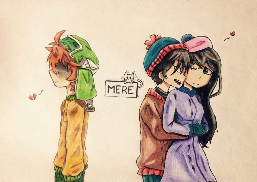 Dibujo Desamorfriendzone Style South Park Amino