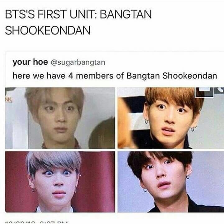 53bde8ceeb31 ... rest of them look like they ve seen some shit. Jimin and Yoongi look  truly shook and freaked out. Ugh