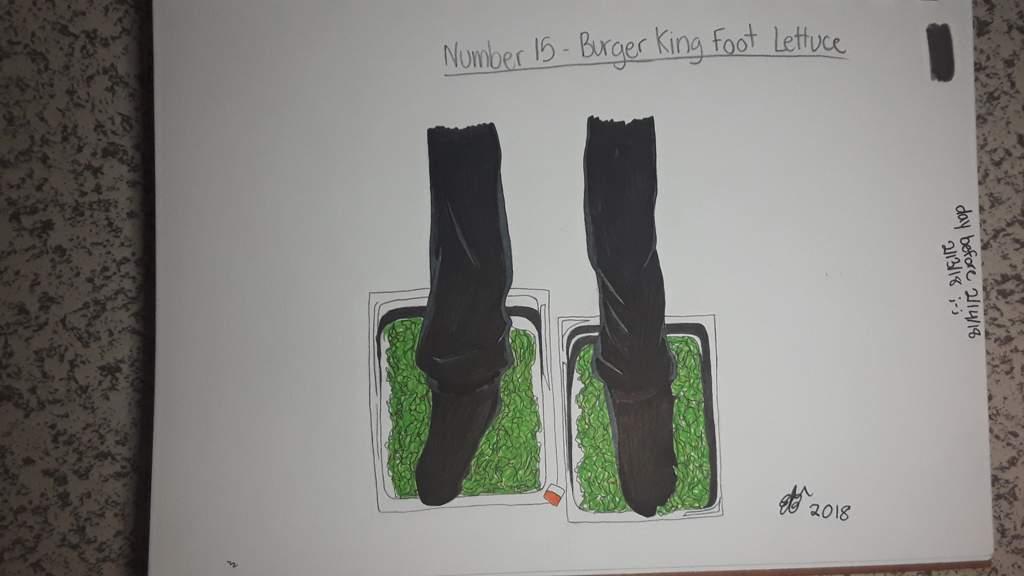 15 Burger King Foot Lettuce