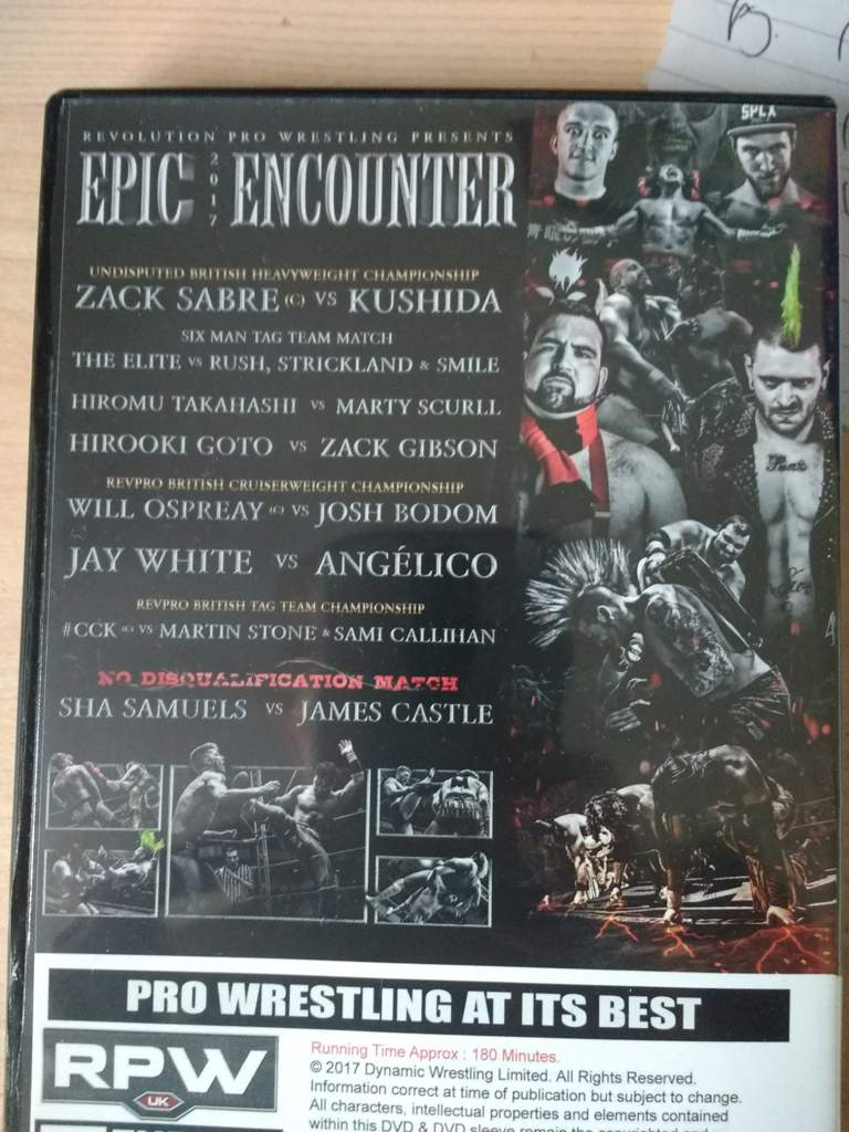 RPW Epic Encounter 2017 Review | Wrestling Amino
