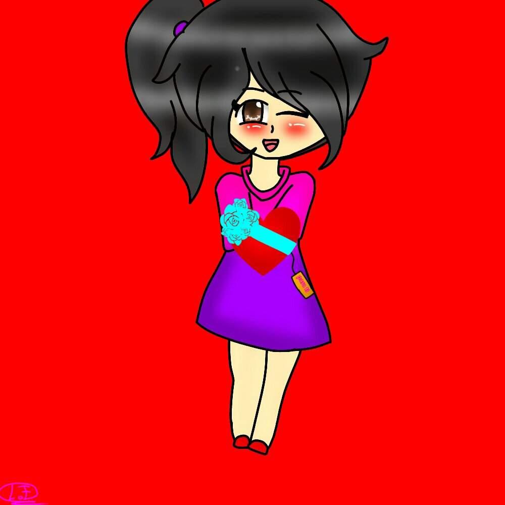 Dibujo Para El Día Del Amor Y La Amistad Bonnie Girl Amino