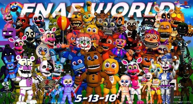 FNAF World Update 3 (FANMADE) | FNaF Amino [ Español ] Amino