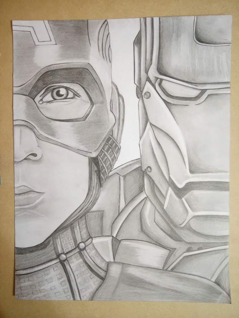 Capitan America Iron Man Dibujarte Amino