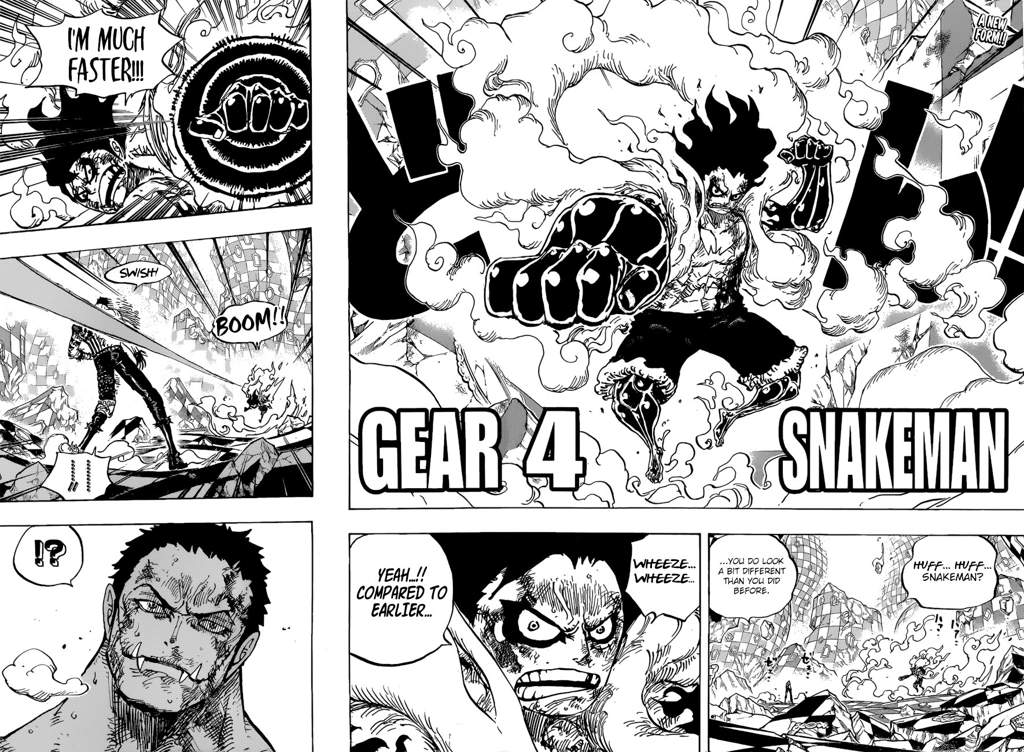 One Piece Lineart : One piece chapter 895: pirate luffy vs. sweet commander katakuri