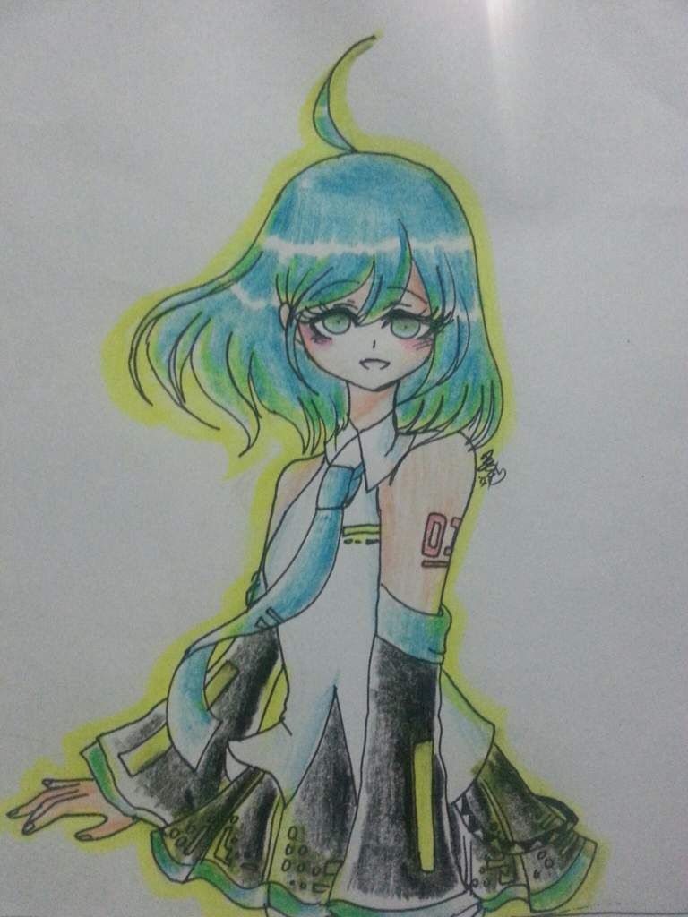 Hatsune Miku Short Hair Vocaloid Amino