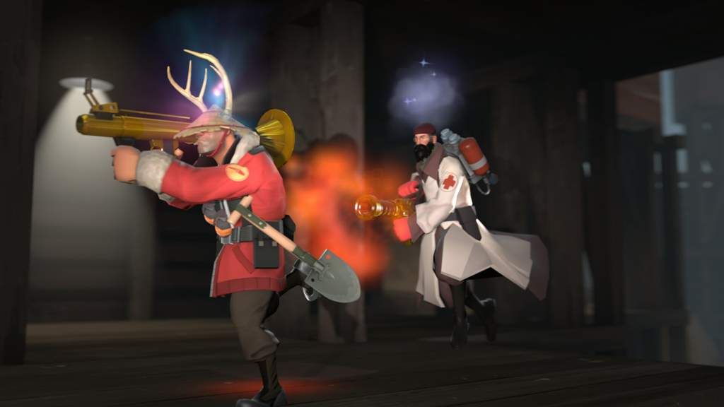 SFM] Poster And Announcement | Team Fortress 2 Amino