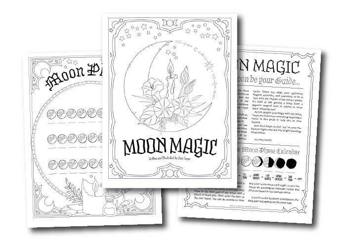 Coloring Book Of Shadows Free Pages Pagans Witches Amino